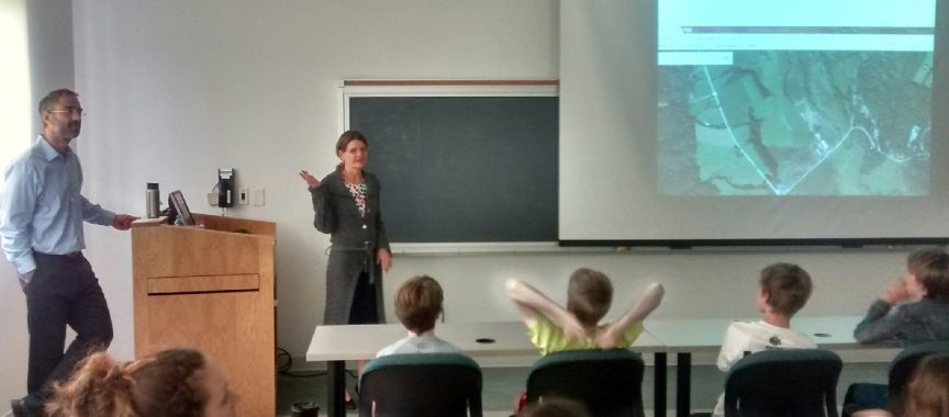 """Environmental Protection Division Teaches  Norwich 5th Graders at VLS """"Clean Water Day"""" Event"""