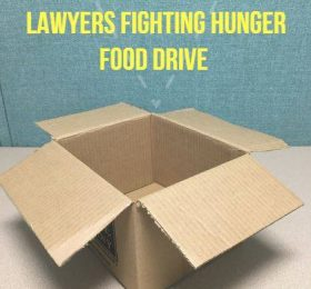 Attorney General T.J. Donvoan Kicks Off  2nd Annual Lawyers Fighting Hunger Food Drive