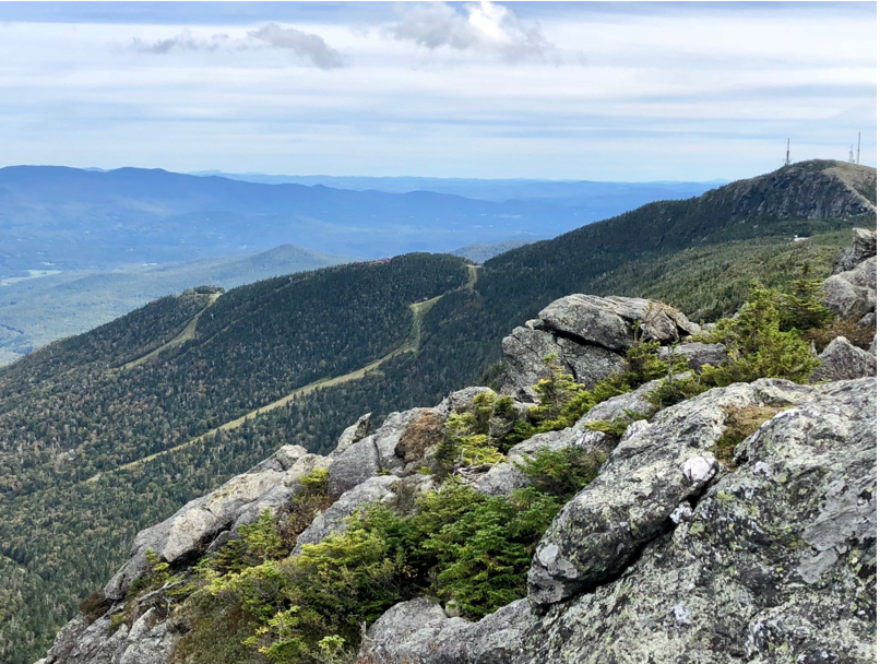 Top of Mount Mansfield