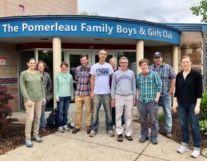 Environmental Protection Division Volunteers at Boys & Girls Club of Burlington 1
